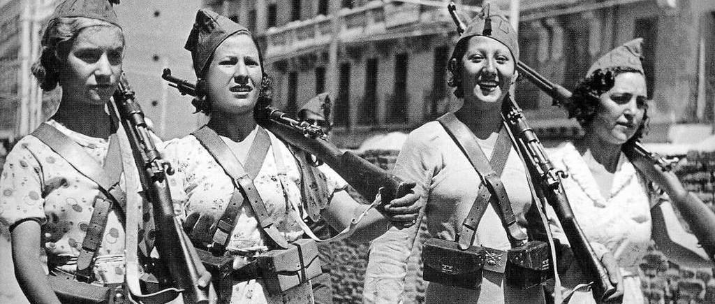 Mujres Libres, cira 1936